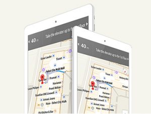Indoor Map for iOS & Android without GPS and Internet