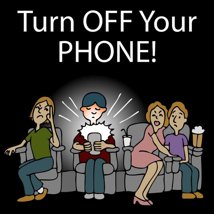turn off mobile