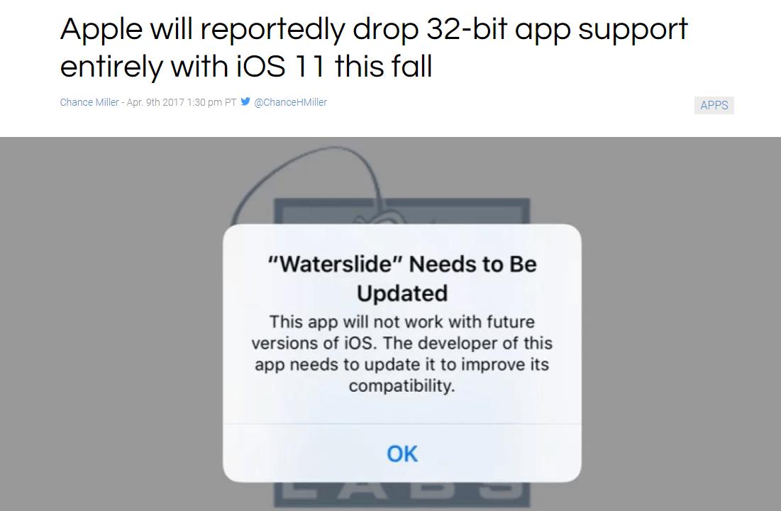 iOS 11 app development