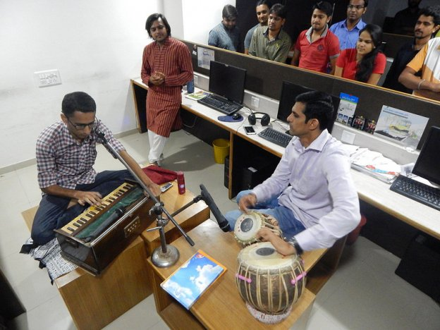 Classical Singing Event at Space-O, Top Mobile App Development Companies
