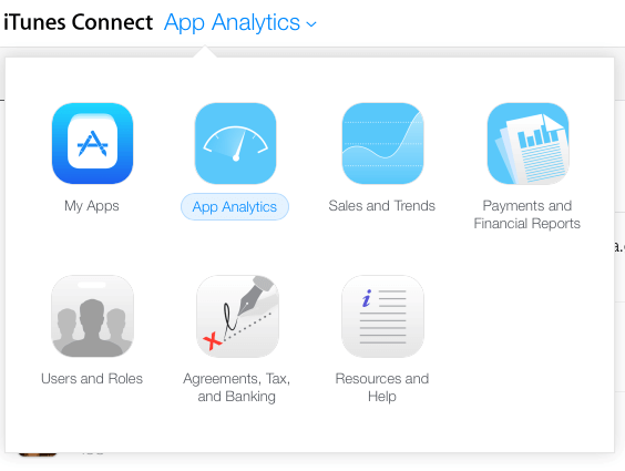 Click on App Analytics