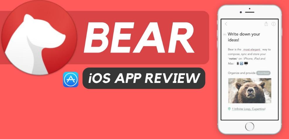 bear app note taking