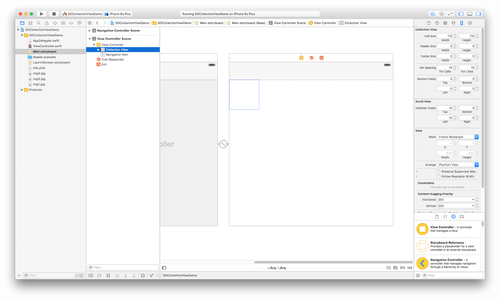 How to build a UICollectionView Controller in Swift?