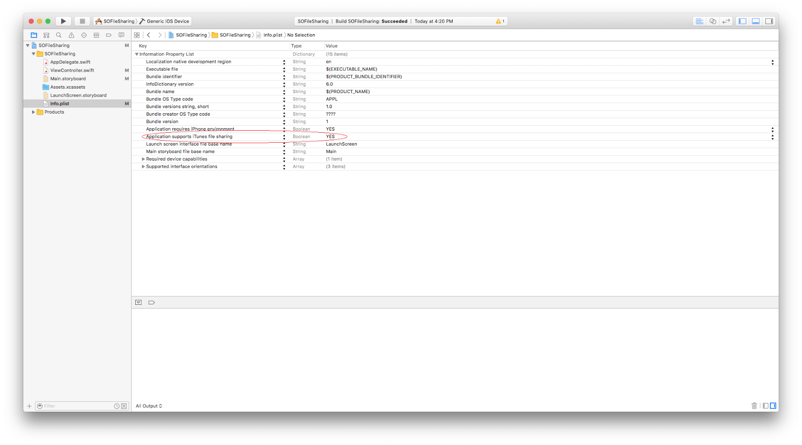 iTunes File Sharing (1)