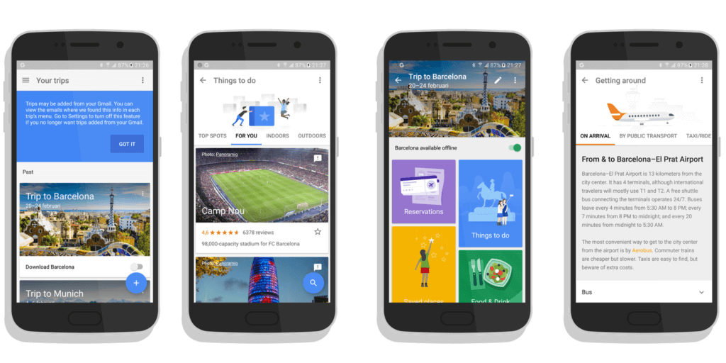 don t develop travel app until you check these amazing google trips