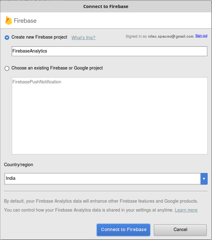 Step 7 Integrate and Use Google Firebase Android Analytics
