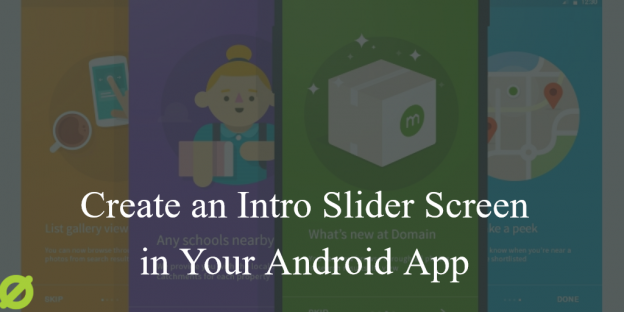 automatic image slider in android studio