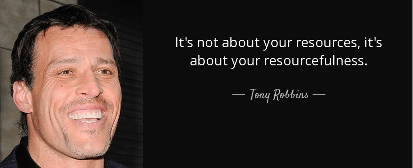 famous quote by tony robbins