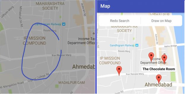 Implementing Android Google Map Custom Overlay in Android App
