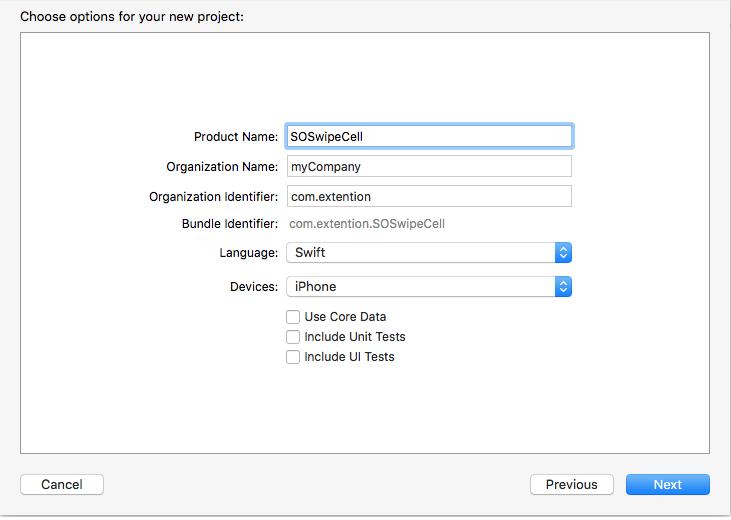 Swipe to Delete iOS, Creating Custom Swipe to Delete iOS Feature Using iOS TableView