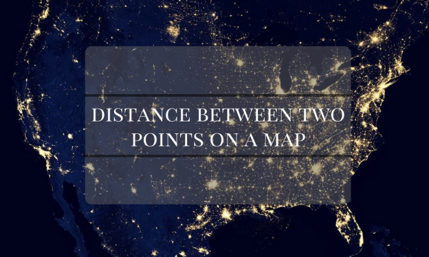 Calculate Distance Between Two GPS Coordinates Using Google