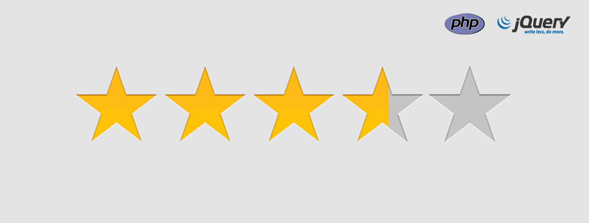 How to Build Star Rating in PHP Using JQuery and AJAX