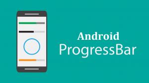 android progress bar example