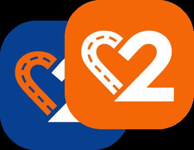 2Placez app logo