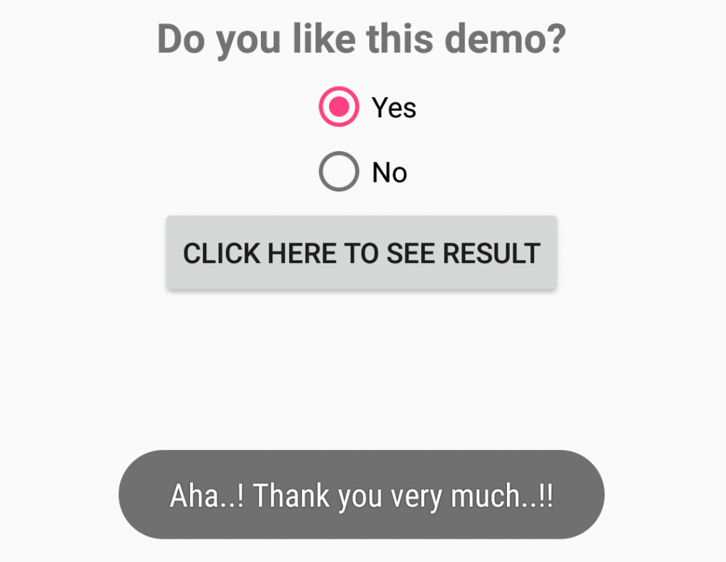 android-radio-button