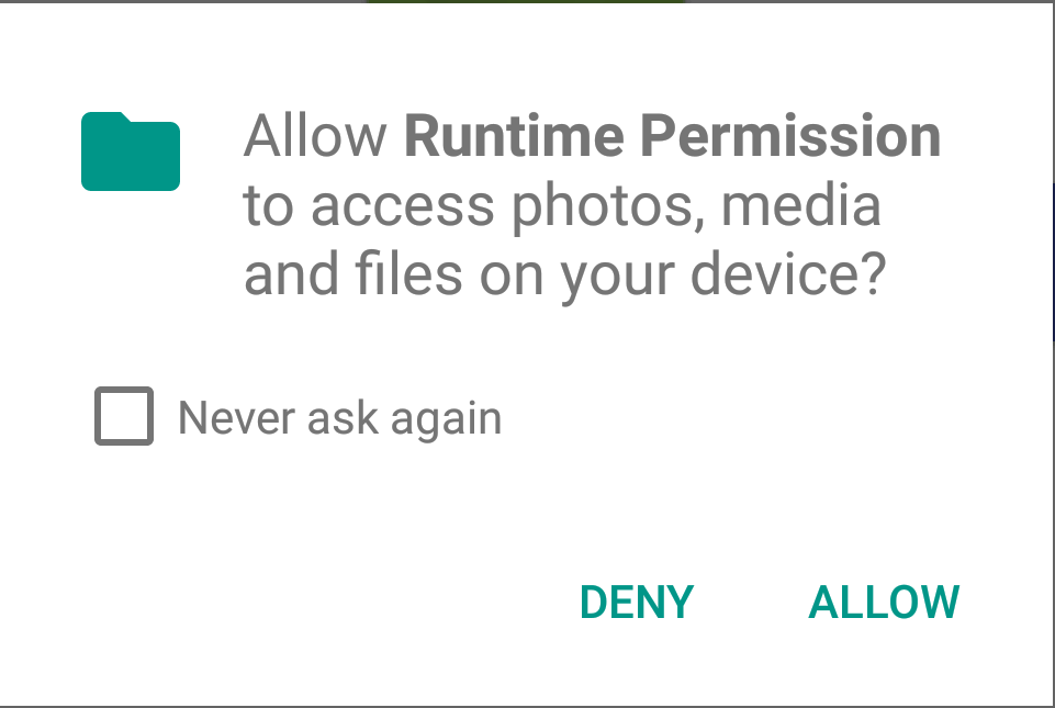 android-runtime-permission