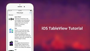 implement ios table-view