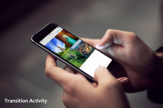 Android transition activity