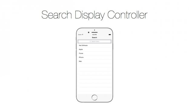 searchbar-display-controller