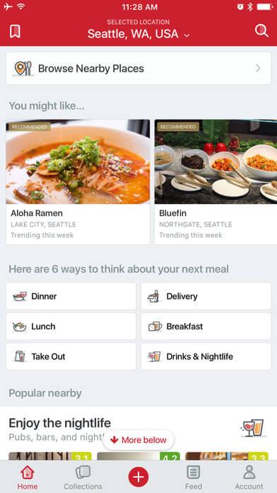 Restaurant Near Me 4 Best Restaurant Mobile Apps For Food