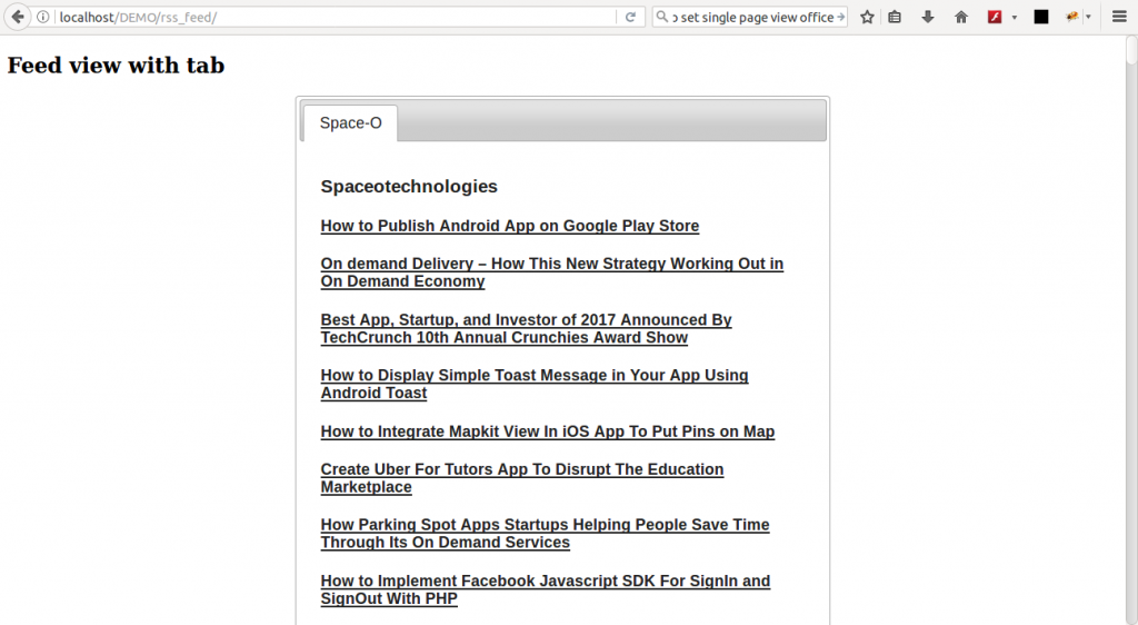 php rss feeder, How To Create PHP RSS Feeder App To Share Website Content