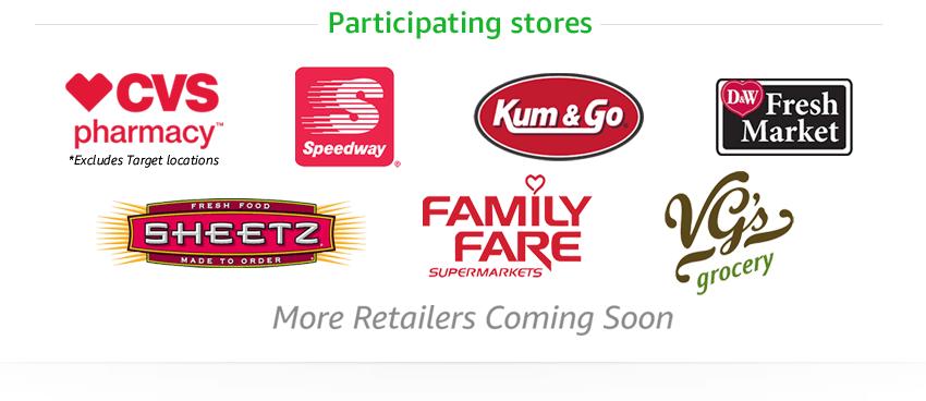 amazon participating retailers