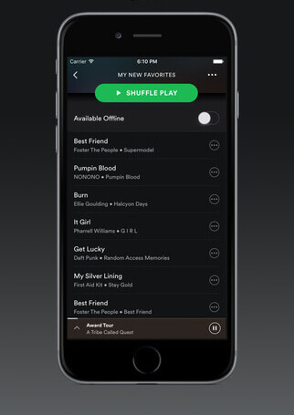 Music App Features