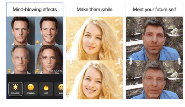 faceapp clone