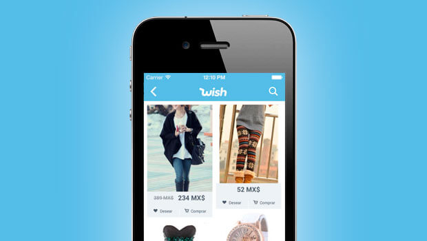 shopping app like wish