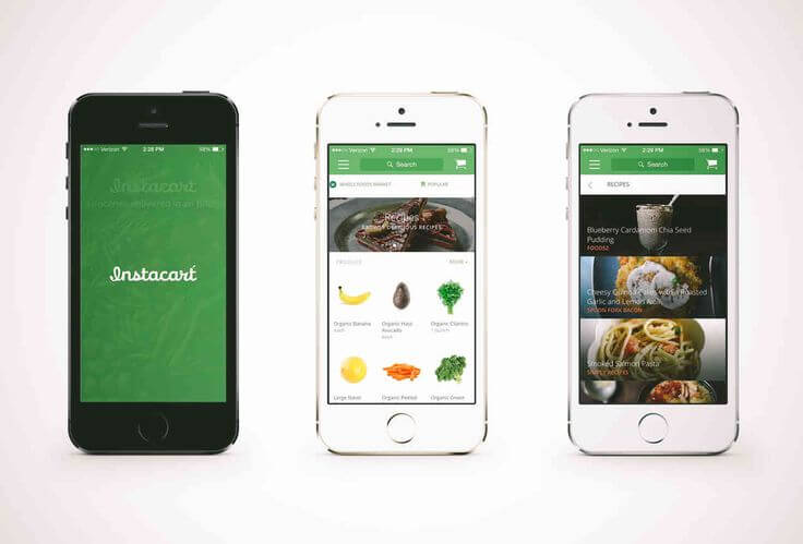 grocery delivery app instacart