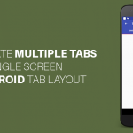 Android Tab Layout