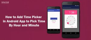 time-picker-in-android
