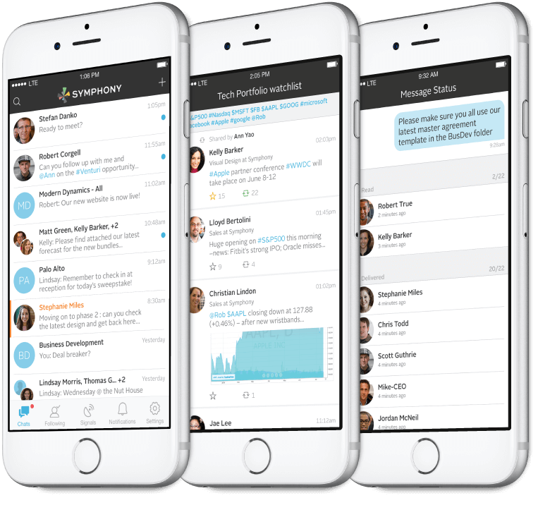 enterprise messaging app