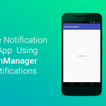 notification in android