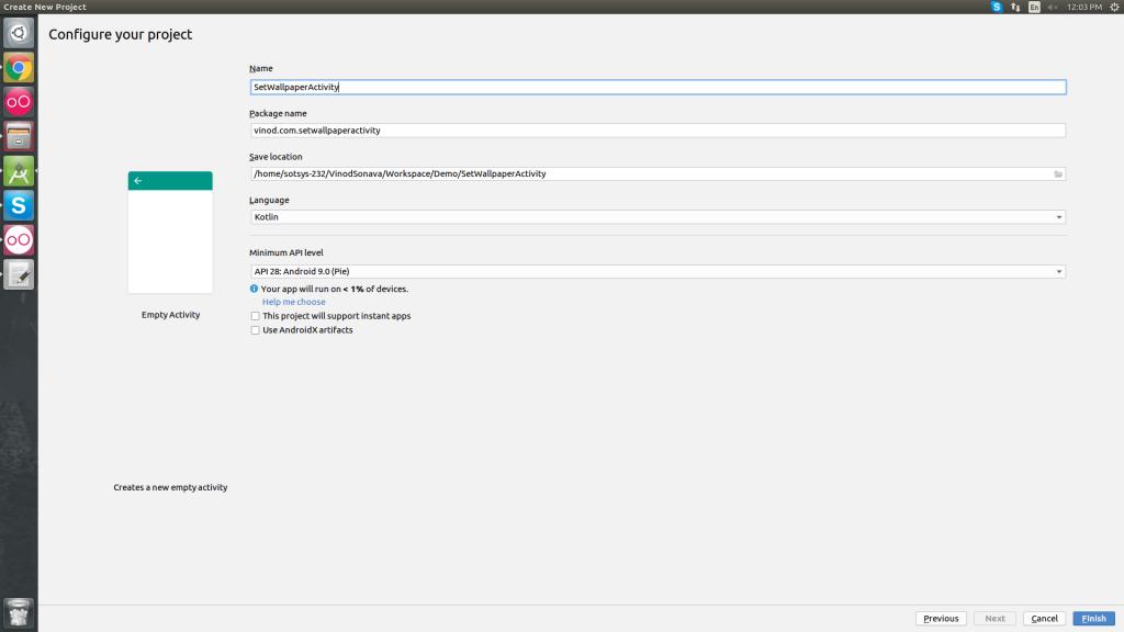 Configure-project