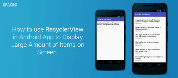 Android App Tutorial: Use RecyclerView in Android to Display