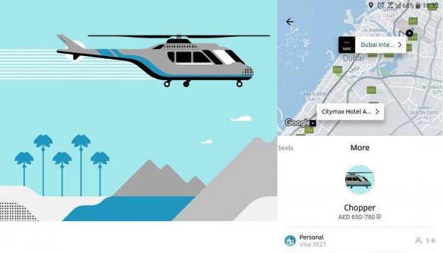 heli taxi app