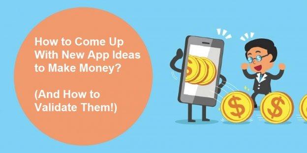 new app ideas to make money