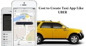 cost to develop Taxi app