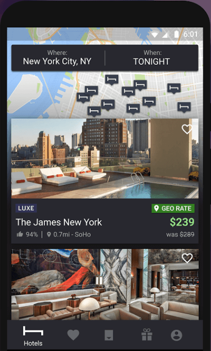 hotel-tonight-with-three-taps  - hotel tonight with three taps - Create Your Own Hotel Booking App Like HotelTonight