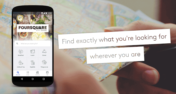 Develop an App like Foursquare
