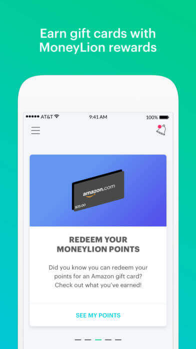 earn points and rewards  - Image 31 - How Much Does It Cost to Develop a Personal Finance App like MoneyLion?