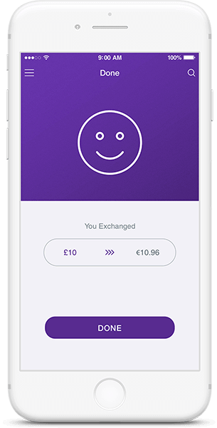 Currency Exchanger Feature on Cryptocurrency Wallet App