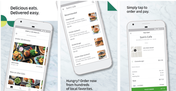 food-delivery-app-ubereats  - food delivery app ubereats - How These 5 Features Make UberEats a Successful Food Delivery App?