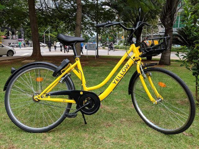 YELLOW-bike