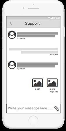 swipe screen
