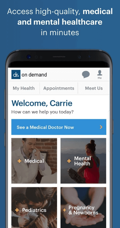 - Doctor On Demand 2 - Startups Need to Check These 4 Powerful Features