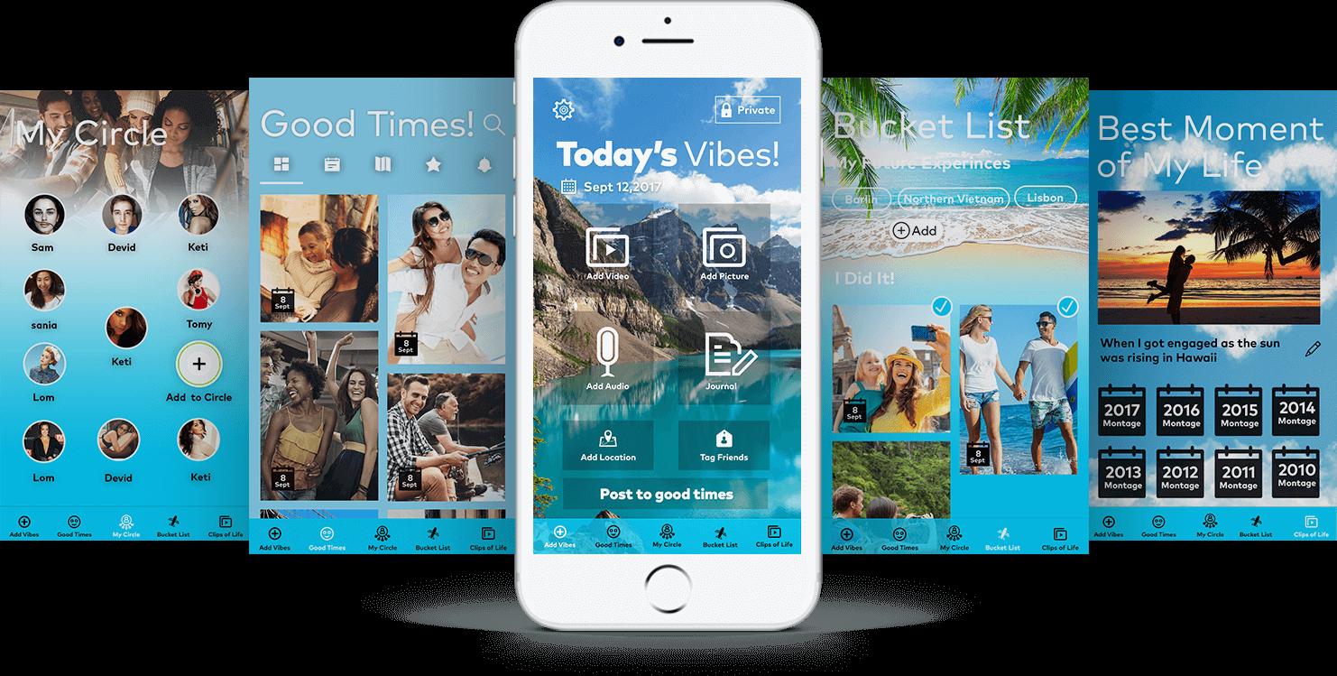 MyCircle app final design