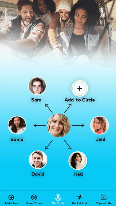 My Circle App Background