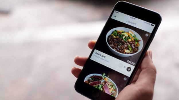 UberEATS  - UberEATS 624x351 - 4 Ingredients That Startups Need to Consider Before Creating an On-Demand Food Delivery App